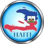 Haiti Round Button
