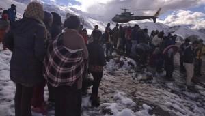 Nepal snowstorm