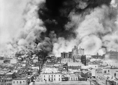 1906. Fire in San Francisco