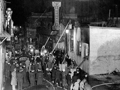 1942. Fire in Boston