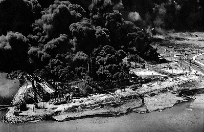 1947. Fire in Texas City